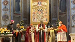 Archbishop Ian Ernest at an Ecumenical Service commemorating the Holy Martyrs of the Armenian Genocide