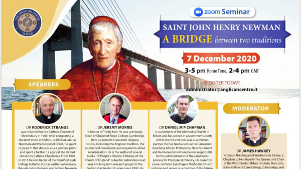 SAINT JOHN HENRY NEWMAN:  A Bridge Between Two Traditions