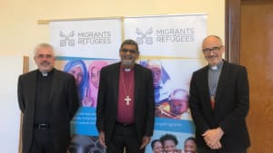 Visit to the Migrants and Refugees Section of the Dicastery for Integral Human Development.