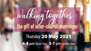Walking Together - the gift of inter-church marriages